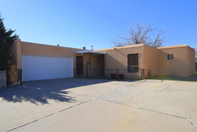 Rio Rancho Single Family Home For Sale: 4402 Los Reyes Road SE