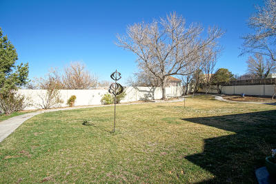Albuquerque Single Family Home For Sale: 9629 San Bernardino Drive NE