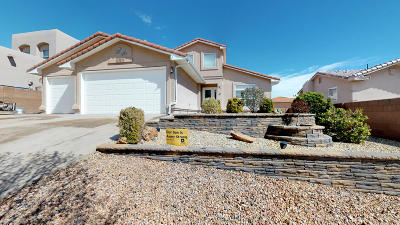 Albuquerque Single Family Home For Sale: 9828 Stone Street NW