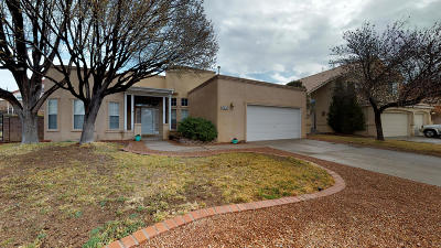 Single Family Home For Sale: 8432 Sandoval Street NE