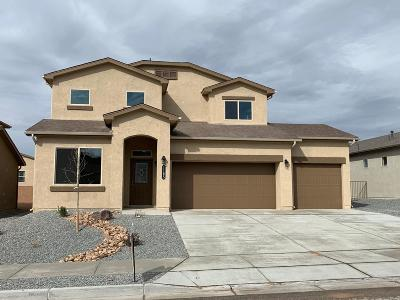 Rio Rancho Single Family Home For Sale: 1165 Fascination Street NE