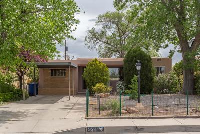 Albuquerque Single Family Home For Sale: 924 Palomas Drive SE