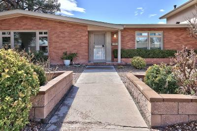 Albuquerque Single Family Home For Sale: 713 Montclaire Drive NE
