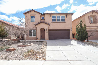 Rio Rancho Single Family Home For Sale: 4021 Loma Alta Avenue NE