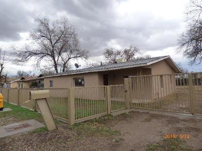 Albuquerque Single Family Home For Sale: 1316 Vista Del Rio Road SW
