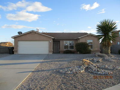 Rio Rancho Single Family Home For Sale: 4904 Canyon Gate Place NE