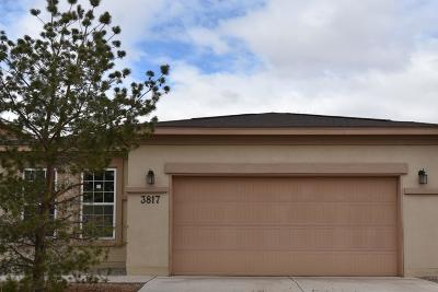 Rio Rancho Single Family Home For Sale: 3817 Buckskin Loop NE