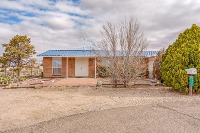 Valencia County Single Family Home For Sale: 202 Riggs Place