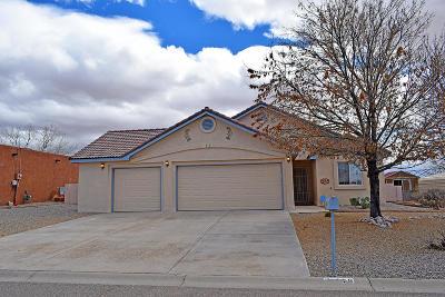 Valencia County Single Family Home For Sale: 116 El Mundo Road