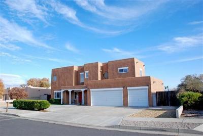Bernalillo County Single Family Home For Sale: 6104 Hokona Place NW