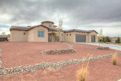 Albuquerque, Rio Rancho Single Family Home For Sale: 2250 Escudo Road NE