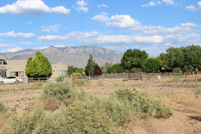 Corrales Residential Lots & Land For Sale: Paseo C De Baca
