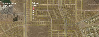Albuquerque Residential Lots & Land For Sale: 4 Lots Alfanje ( 4 Lots Together) Street NW