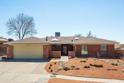 Albuquerque Single Family Home For Sale: 9508 Farragut Drive NE