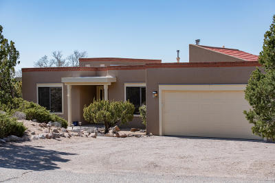 Sandia Heights Single Family Home For Sale: 1004 Tramway Lane NE