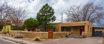 Albuquerque Single Family Home For Sale: 1017 Adams Street SE