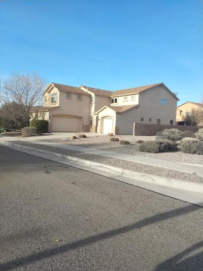 Albuquerque Single Family Home For Sale: 10500 Bitter Creek Drive NW