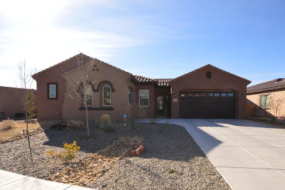 Rio Rancho Single Family Home For Sale: 4029 Colina Roja Lane NE