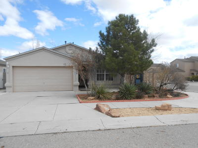 Albuquerque Single Family Home For Sale: 2300 Aguacate Drive NW