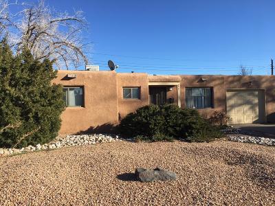 Albuquerque Single Family Home For Sale: 2404 Britt Street NE
