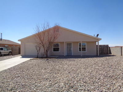 Valencia County Single Family Home For Sale: 13 Nehemiah Place
