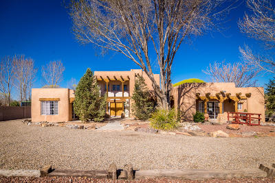 Los Lunas Single Family Home For Sale: 4 Gilcrease Road