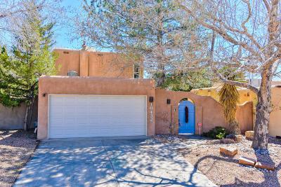 Albuquerque Single Family Home For Sale: 10432 Oso Grande Road NE