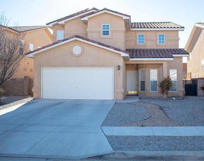 Albuquerque Single Family Home For Sale: 927 Tambora Street NW