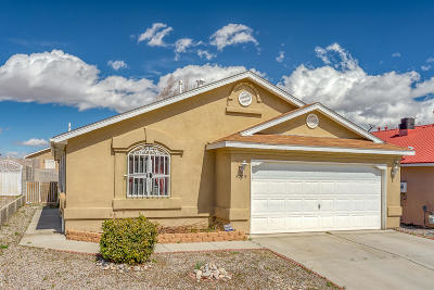 Bernalillo County Single Family Home For Sale: 8703 Black Stallion Road SW