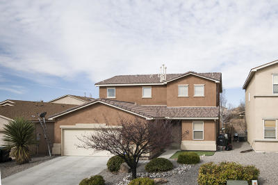 rio rancho Single Family Home For Sale: 1623 Calle De Roja Drive SE