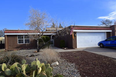 Bernalillo County Single Family Home For Sale: 11827 Elvin Avenue NE