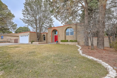 Bernalillo County Single Family Home For Sale: 7112 Osuna Road NE