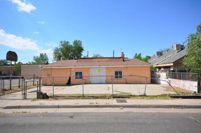 Albuquerque NM Single Family Home For Sale: $53,500
