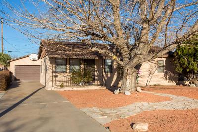 Albuquerque Single Family Home For Sale: 845 Hidalgo Circle NW