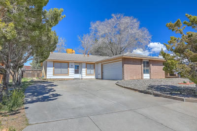 Bernalillo County Single Family Home For Sale: 8121 Monterey East Avenue
