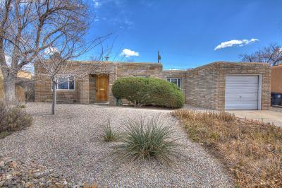 Albuquerque Single Family Home For Sale: 1712 Richmond Drive NE