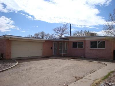 Albuquerque Single Family Home For Sale: 1805 Pitt Street NE