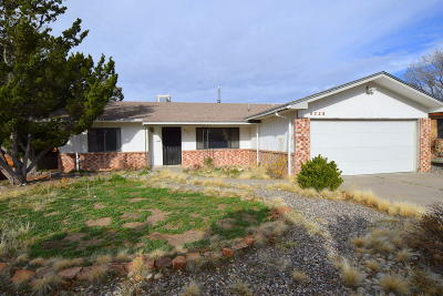 Albuquerque Single Family Home For Sale: 8325 Loma Del Norte Road NE