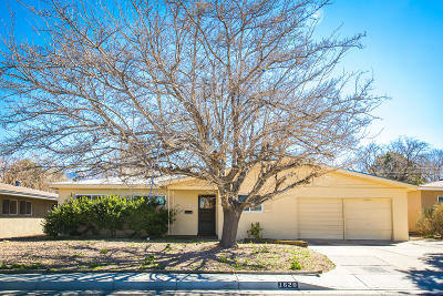 Albuquerque Single Family Home For Sale: 1620 Parsifal Street NE