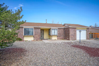 Rio Rancho Single Family Home For Sale: 4543 Sunstone Way NE