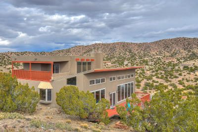 Placitas, Bernalillo Single Family Home For Sale: 75 Camino De Las Huertas