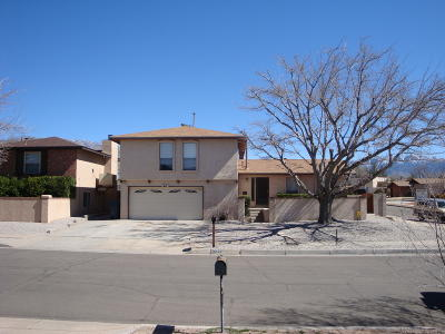 Albuquerque Single Family Home For Sale: 7700 Midge Street NE