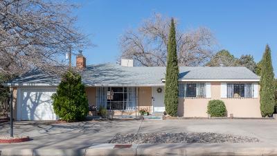 Albuquerque Single Family Home For Sale: 3531 Florida Street NE