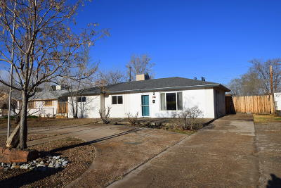 Albuquerque Single Family Home For Sale: 2619 Parsifal Street NE