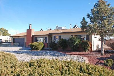 Rio Rancho Single Family Home For Sale: 216 Cerro De Ortega Drive