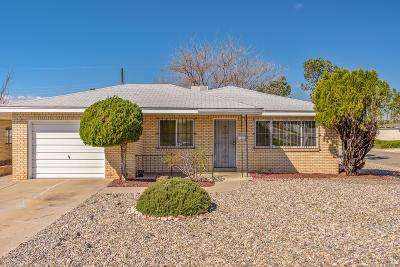 Albuquerque Single Family Home For Sale: 2733 Alcazar Street NE