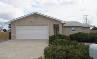 Valencia County Single Family Home For Sale: 219 Loma Verde Drive