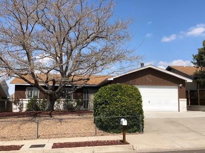 Albuquerque Single Family Home For Sale: 12905 Roma Avenue NE
