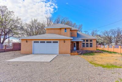Single Family Home For Sale: 4824 Isleta Boulevard SW