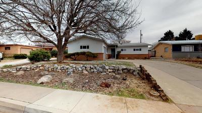 Albuquerque Single Family Home For Sale: 1412 June Street NE